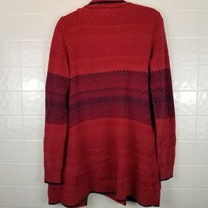 CAbi Sweaters - Cabi size medium oversized red cardigan style #897